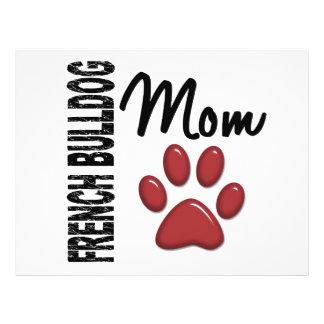 French Bulldog Mom 2 Full Color Flyer