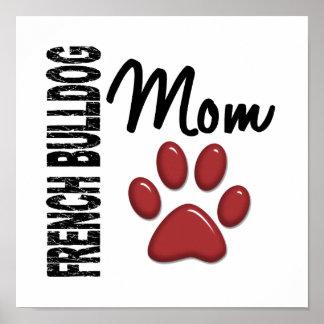 French Bulldog Mom 2 Print