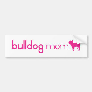 French Bulldog Mom Car Bumper Sticker