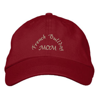 French Bulldog Mom Gifts Embroidered Baseball Hat