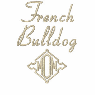 French Bulldog Mom Gifts Embroidered Hooded Sweatshirts