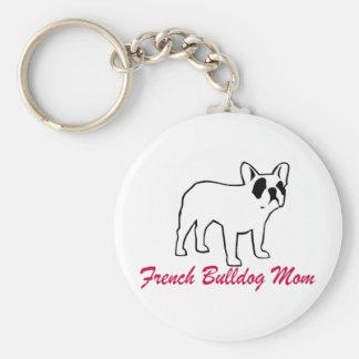 French Bulldog Mom Key Chains