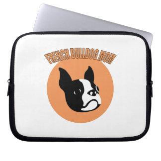 French Bulldog Mom Laptop Sleeve