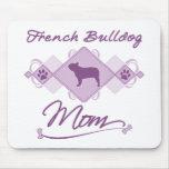 French Bulldog Mom Mousepad