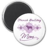 French Bulldog Mom Refrigerator Magnets