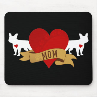 French Bulldog Mom [Tattoo style] Mouse Pad