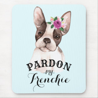French Bulldog Mousepad - Blue