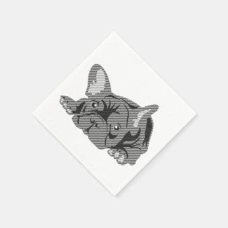 French Bulldog Napkins Paper Napkins