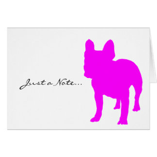 French Bulldog Note Card