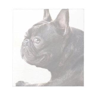 French Bulldog Note Pad