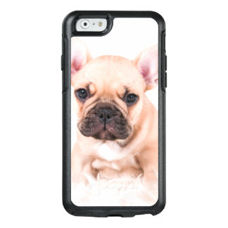 French bulldog. OtterBox iPhone 6/6s case