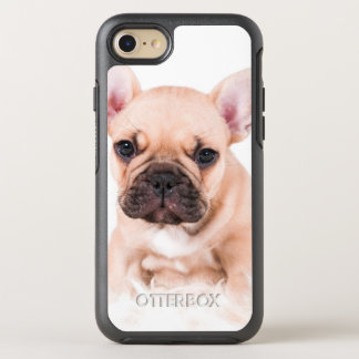 French bulldog. OtterBox symmetry iPhone 8/7 case