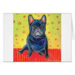 french bulldog painting 2 svetlana novikova card