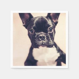 French Bulldog Paper Napkin