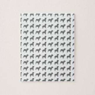 French Bulldog Pattern Jigsaw Puzzle