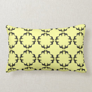 French Bulldog Pattern Lumbar Pillow