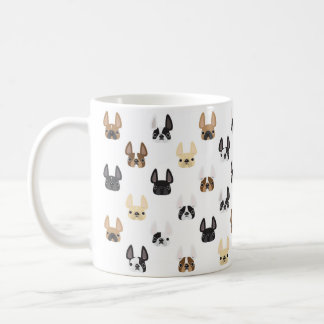 French Bulldog Pattern Mug