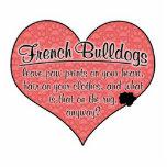 French Bulldog Paw Prints Dog Humor Photo Sculptures