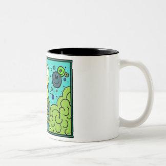 French Bulldog Peace Coffee Mugs