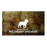 French Bulldog Pet Realated Business Card Templates