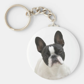 French Bulldog photo cute keychain, gift idea Keychain