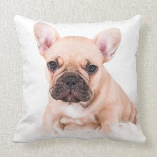 French bulldog. pillow