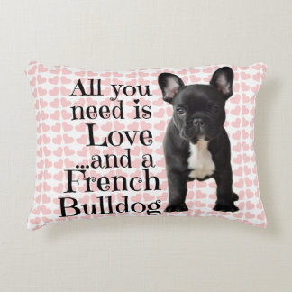 French Bulldog Pillow - Love