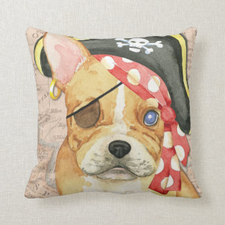 French Bulldog Pirate Pillows