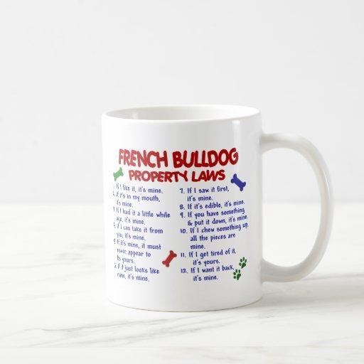 FRENCH BULLDOG PL2 COFFEE MUGS