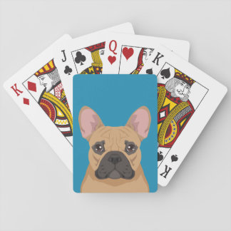 French Bulldog Playing Cards