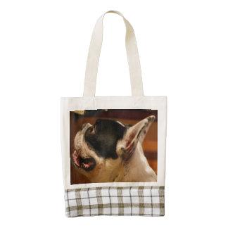 french-bulldog.png zazzle HEART tote bag