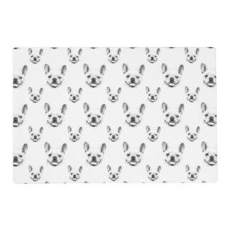 French Bulldog Portrait Placemat