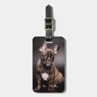 French Bulldog Portrait Purse/Luggage Tag