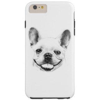 French Bulldog Portrait Tough iPhone 6 Plus Case