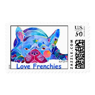 French Bulldog  Postage Stamp