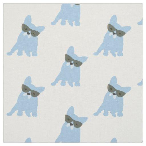 French Bulldog Print Fabric Zazzle
