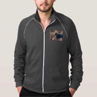 french bulldog printed jacket