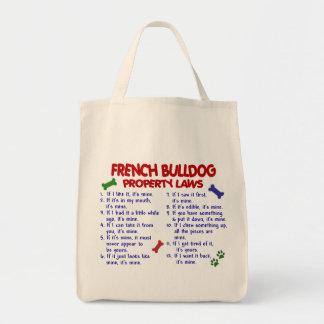 FRENCH BULLDOG Property Laws 2 Tote Bag