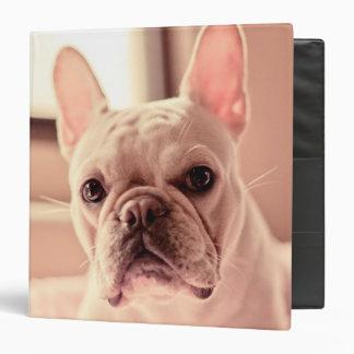French Bulldog Puppy 3 Ring Binder