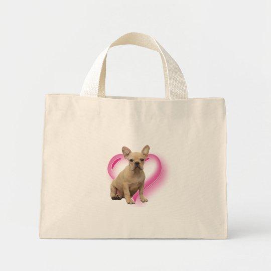 French bulldog puppy bag