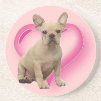 French bulldog puppy coaster