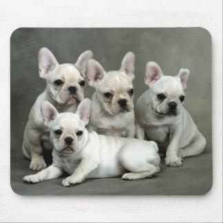 French Bulldog Puppy Cream White Dog Mousepad