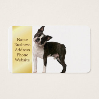 French bulldog - puppy dog - frenchie dog business card