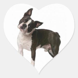 French bulldog - puppy dog - frenchie dog heart sticker