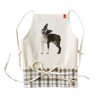 French bulldog - puppy dog - frenchie dog zazzle HEART apron