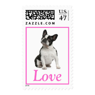 French Bulldog Puppy Dog Love US Postage Stamps