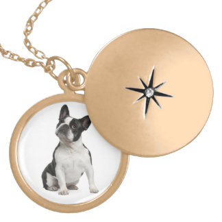 French Bulldog Puppy Dog Pendent Necklace