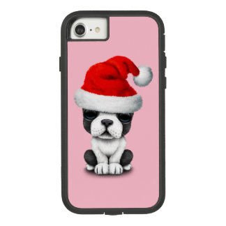 French Bulldog Puppy Dog Wearing a Santa Hat Case-Mate Tough Extreme iPhone 8/7 Case