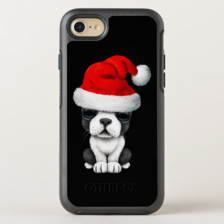 French Bulldog Puppy Dog Wearing a Santa Hat OtterBox Symmetry iPhone 8/7 Case