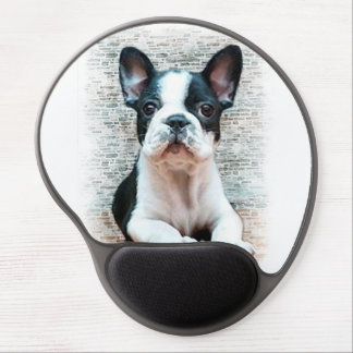 French Bulldog puppy Gel Mouse Pad